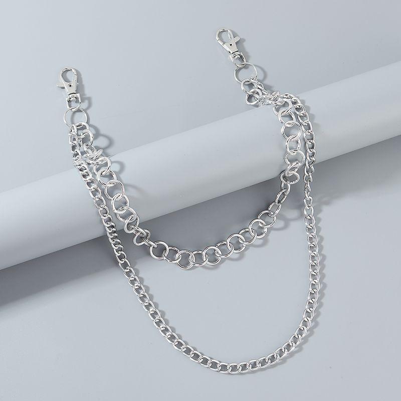 Korean fashion hip-hop simple style personalized men's pants chain wholesale nihaojewelry NHPS227075