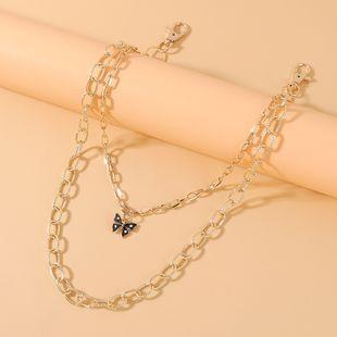 Moda coreana creativa pequeña mariposa señoras pantalones cadena al por mayor nihaojewelry NHPS227079's discount tags