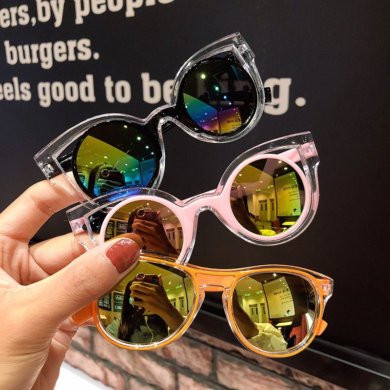 Children's sunglasses cute sunglasses anti-UV glasses cartoon wholesale nihaojewelry NHNA227103