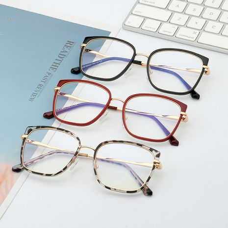 trend new TR90 anti-blue glasses comfortable spring legs game protective glasses wholesale NHFY227153's discount tags
