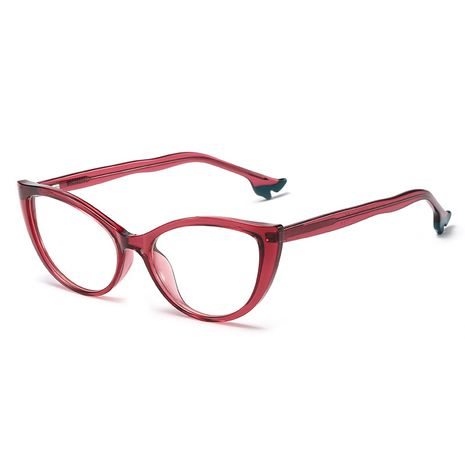 new sexy high-heeled shoes flat mirror CP ferrule high-quality glasses frame myopia NHFY227157's discount tags