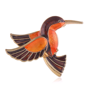 Korean fashion simple bird temperament brooch  wholesale nihaojewelry NHSC221635's discount tags
