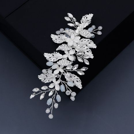 Japan and South Korea accessories wedding jewelry beautiful jelly crystal pearl hairpin photography modeling headdress hair accessories wholesale nihaojewelry NHHS221409's discount tags