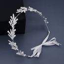 New jewelry creative daily simple hair hoop pearl handmade headband bridesmaid dress headdress bride wedding hair band  wholesale nihaojewelry NHHS221411