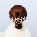 Exquis  la main Franais esthtique cheveux bande romantique fe fleur bandeau marie coiffure coiffure robe de marie accessoires en gros nihaojewelry NHHS221416