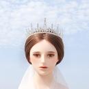 bridal crown earrings suit temperament ladies dress accessories iceberg shape birthday cake crown wholesale nihaojewelry NHHS221419
