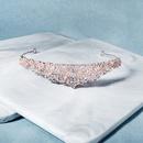 Bridal hair accessories retro elegant queen crown hollow diamond semicircular headband birthday party wedding dress accessories  wholesale nihaojewelry NHHS221430
