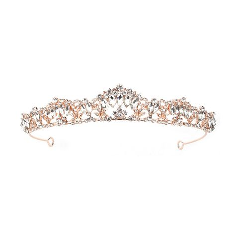 atmosphere bridal headdress new simple party crown gift wedding accessories  wholesale nihaojewelry NHHS221437's discount tags