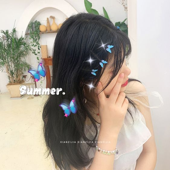 Details about  /Net Yarn Butterfly Headband Wild Go Out Headband Hairpin Re