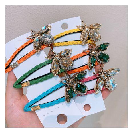 Hot Hawaiian style fashion bee macaron cute personality shiny girl metal hairpin accessories  wholesale nihaojewelry NHHD221505's discount tags