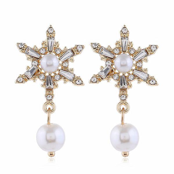 new tide diamond earrings temperament personality design earrings ear jewelry wholesale nihaojewelry NHVA221561