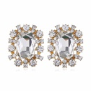fashion retro temperament diamond earrings ear jewelry short paragraph personalized gemstone earrings mixed batch  wholesale nihaojewelry NHVA221563