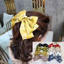Korean fashion section small daisy hair clip highend fabric simple hairpin super fairy bowknot clip hair accessories wholesale nihaojewelry NHUX221756