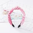 NHUX707918-Pink-gold-velvet-nail-pearl-hair-band