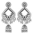 new retro texture bohemian clan wind bell tassel drop spike temperament earrings wholesale nihaojewelry NHSC222304
