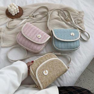 mode coréen simple nouveau petit frais sac de selle décontracté hit couleur épaule sac de messager en gros NHPB227286's discount tags