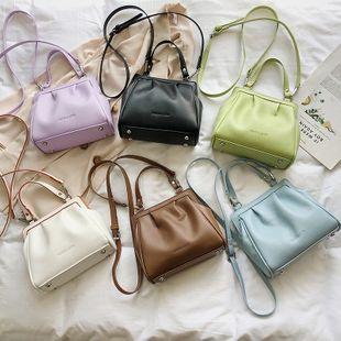 nouvelle mode coréenne casual grande capacité sac à main femme simple sauvage couleur unie sac à bandoulière en gros NHPB227349's discount tags