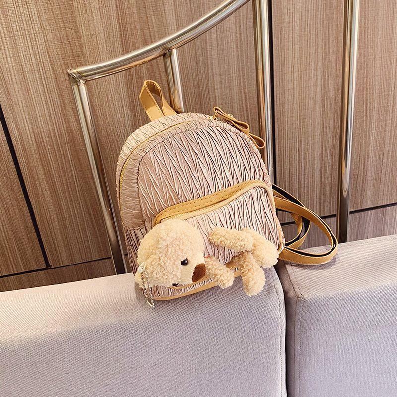 Mini shoulder bag bear shoulder messenger bag fashion Korean new shopping cute little backpack NHJZ227431