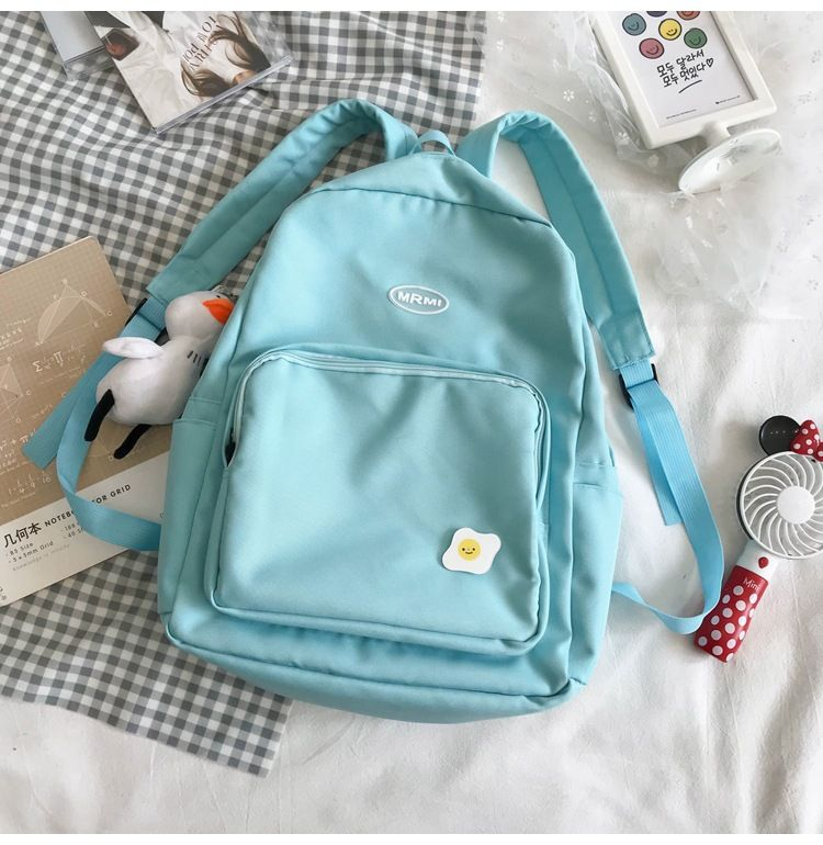 new lightweight schoolbag female Korean high school backpack female shoulders fashion  simple backpack wholesale NHTC227497