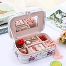 Cartoon printing jewelry storage box highend jewelry box wedding makeup jewelry box wholesale nihaojewelry NHHO227585