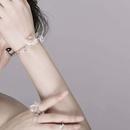 flower combination set necklace collar bracelet ring earrings wholesale nihaojewelry NHYQ227612
