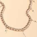 jewelry Harajuku lightning necklace pendant hipster hiphop clavicle chain wholesale nihaojewelry NHNZ227776