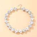 fashion jewelry fun dice pendant trend dice necklace wholesale nihaojewelry NHNZ227781