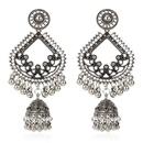 fashion retro tassel earrings boho birdcage bell pendant bell earrings wholesale nihaojewelry NHCT227908