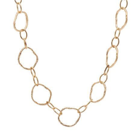 irregular circle necklace non-mainstream street tide accessories wholesale nihaojewelry NHJJ228038's discount tags