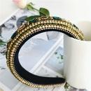 fashion baroque diamond color headband hair accessories retro headband wholesale nihaojewelry NHVA228052