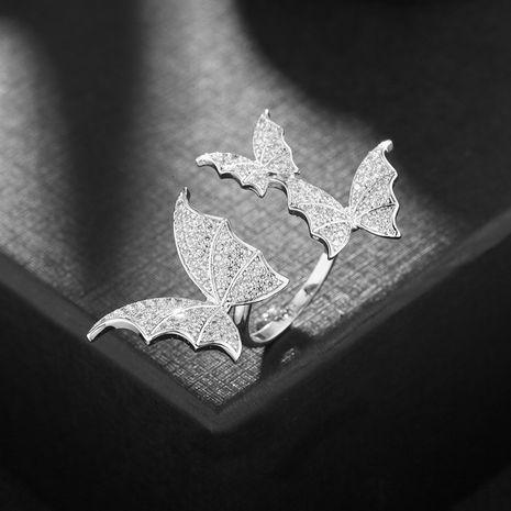 Papillon mode bague tendance simple ouverture exagérée index bague en gros nihaojewelry NHDO228170's discount tags
