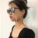 fashion jewelry wild street shot doublelayer beaded jewelry fashion handmade imitation pearl chain glasses chain wholesale nihaojewelry NHXR228286