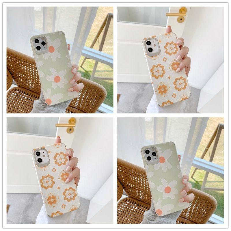 flower phone case for 11Pro/Max Apple X/XS/XR mobile phone case iPhone7p 8plus silicone phone case NHFI228363