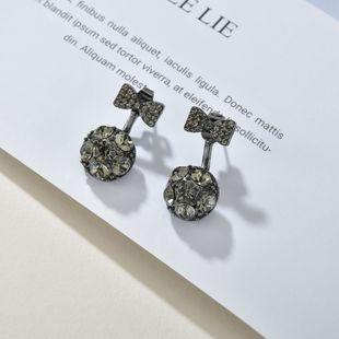S925 Silver Needle Hypoallergenic Earrings Simple Creative Earrings Two-Wear Earrings wholesale nihaojewelry NHBQ228395's discount tags