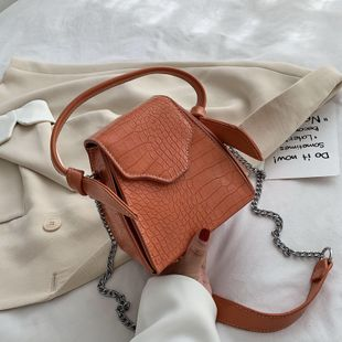 fashion texture bag women new Korean shoulder slung fashion casual bucket bag wholesale NHJZ228508's discount tags