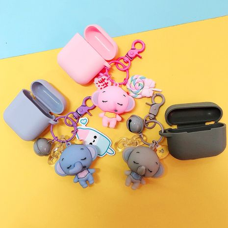 Pro3 cute baby elephant airpods1/2 protective cover for Apple wireless Bluetooth headset shell silicone wholesale NHJP228621's discount tags