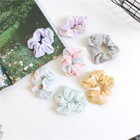 Sweet simple hair scrunchies head roperetro hair rope hot selling headdress wholesale nihaojewelry NHCM228627's discount tags