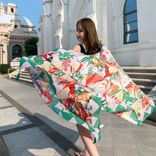 beach towel summer beach sunscreen shawl outside scarf extra large wild scarf NHCM228633's discount tags