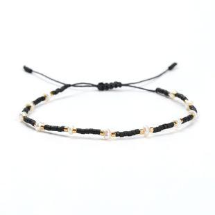 Pulsera pequeña de moda original perla natural MiyukiDB cuentas de arroz antiguas tejidas joyería hecha a mano nihaojewelry NHGW228700's discount tags