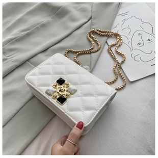 embroidery thread small bag summer new wave fashion messenger bag small square bag wholesale nihaojewelry NHTC229006's discount tags