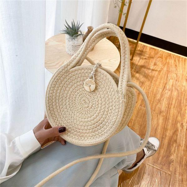 Summer handbag bag new wave fashion small round bag high-quality crossbody bag shoulder bag wholesale nihaojewelry NHTC229069