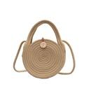 Summer handbag bag new wave fashion small round bag highquality crossbody bag shoulder bag wholesale nihaojewelry NHTC229069