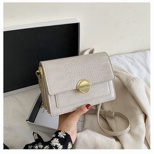 Chain bag popular new wave summer fashion shoulder messenger bag small square bag wholesale nihaojewelry NHTC229073's discount tags