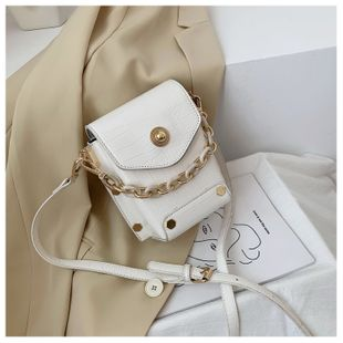 Summer small bag new trendy wild chain shoulder messenger bag fashion portable bucket bag wholesale nihaojewelry NHTC229078's discount tags