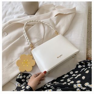 new trendy chain single shoulder messenger bag fashion small square bag summer small bag wholesale nihaojewelry NHTC229096's discount tags