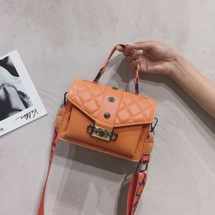 French niche bag popular new fashion broadband crossbody bag shoulder small square bag wholesale nihaojewelry NHTC229110's discount tags