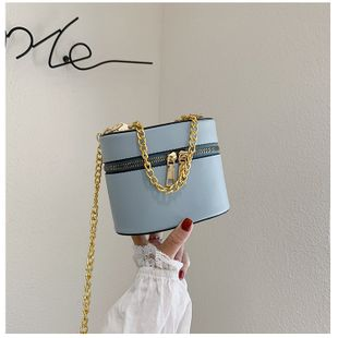 small bag new wave Korean bucket bag fashion small fragrant style shoulder slung wholesale nihaojewelry NHTC229126's discount tags