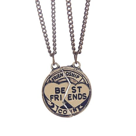 necklace personalized jewelry accessories fashion letters good friends necklace wholesale nihaojewelry NHMO229261's discount tags