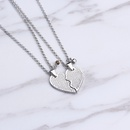 necklace clavicle chain good sisters love splicing necklace wholesale nihaojewelry NHMO229263
