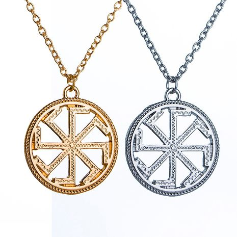 explosion models windmill necklace clavicle chain pagan sun amulet pendant necklace accessories wholesale nihaojewelry NHMO229279's discount tags